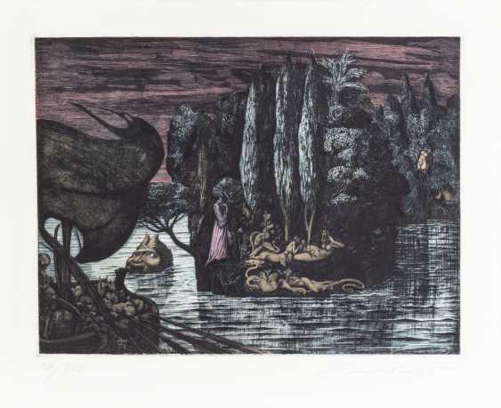 "FUCHS, ERNST (1930-2015), ""dead island"", - photo 2"