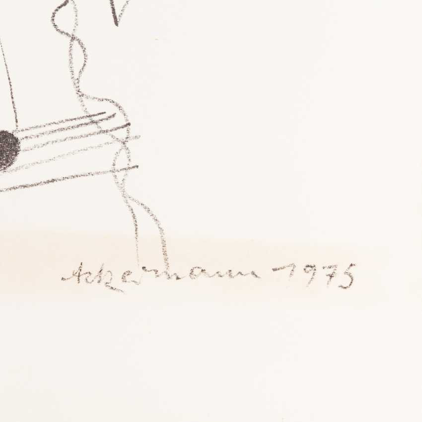 "ACKERMANN, MAX (Berlin 1887-1975 subitem tight Hardt, Prof.), 2 lithographs, ""figurative composition"", - photo 4"