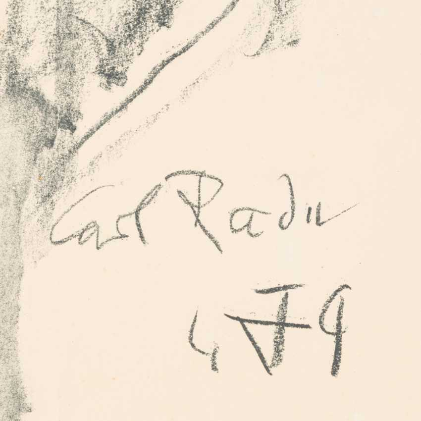 "DIX, OTTO (1891-1969, Prof.), ""Carl Radu"", - photo 3"