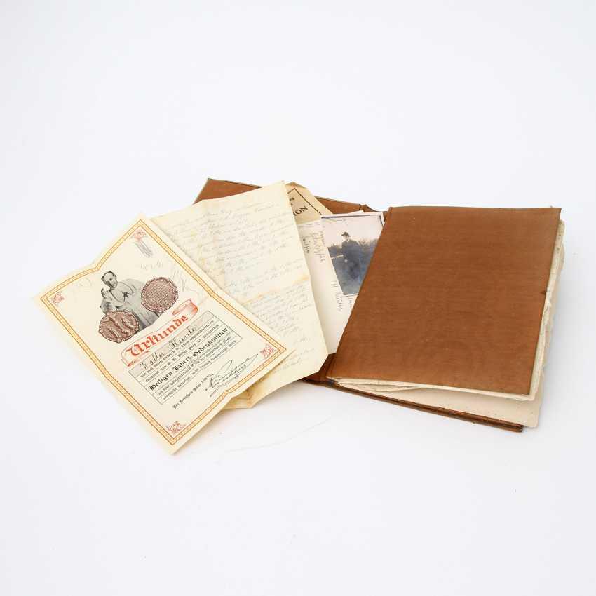 ERHARD & SÖHNE, writing binder, Schwäbisch Gmünd, around 1900 - photo 2