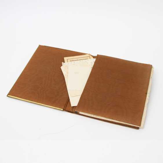 ERHARD & SÖHNE, writing binder, Schwäbisch Gmünd, around 1900 - photo 3