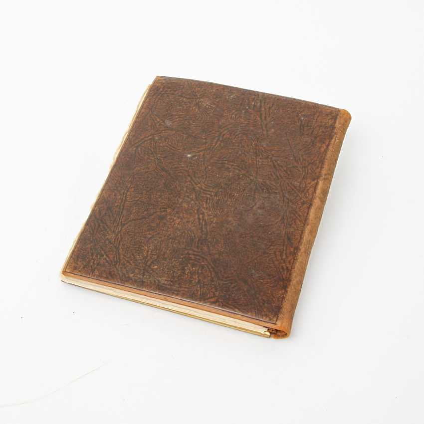 ERHARD & SÖHNE, writing binder, Schwäbisch Gmünd, around 1900 - photo 5
