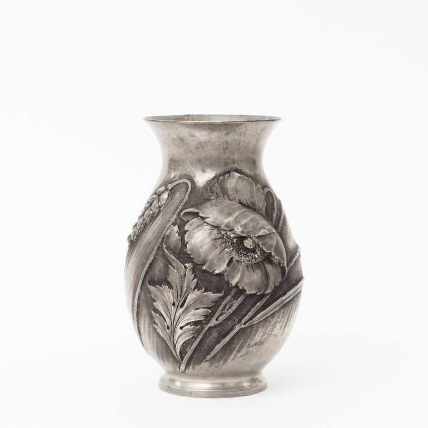 Cortesi Pewter Vase Art Nouveau Around 1900 Lot 1930