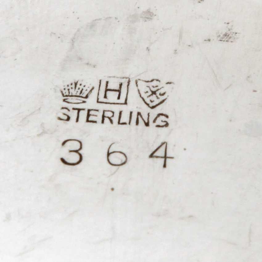 STERLING Set of sugar bowl and cream jug, 20. Century - photo 4