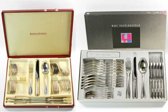 ROBBE & BERKING dining Cutlery for 12 persons, silver plated, 20. Century - photo 1