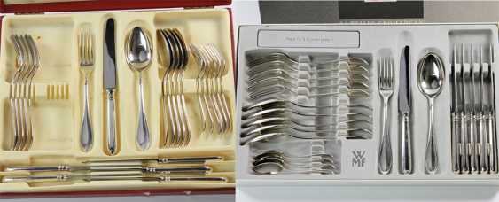 ROBBE & BERKING dining Cutlery for 12 persons, silver plated, 20. Century - photo 2