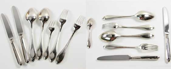 ROBBE & BERKING dining Cutlery for 12 persons, silver plated, 20. Century - photo 5