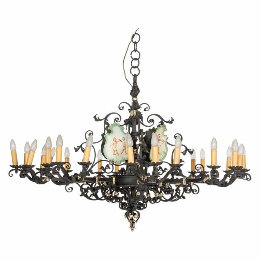 CEILING CHANDELIER IN THE BAROQUE STYLE - photo 1