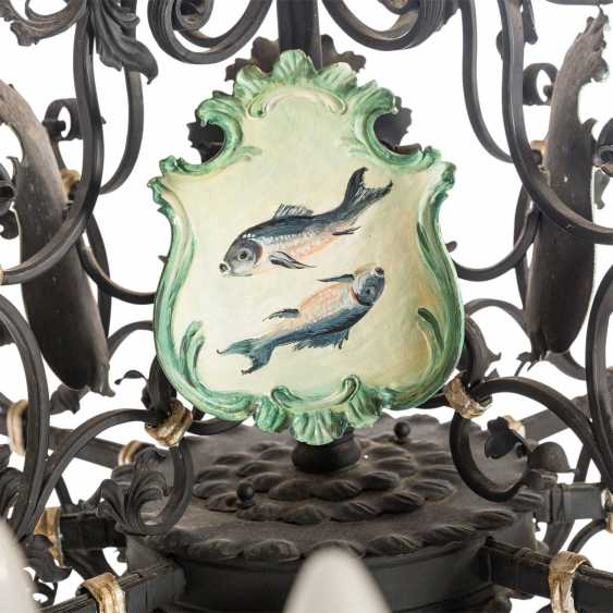 CEILING CHANDELIER IN THE BAROQUE STYLE - photo 4