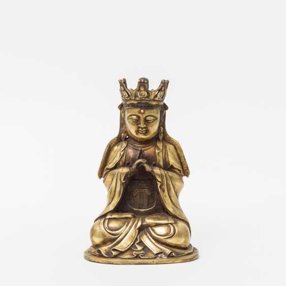 TIBETAN deity, 20. Century - photo 1