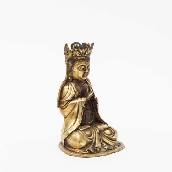 TIBETAN deity, 20. Century - photo 2