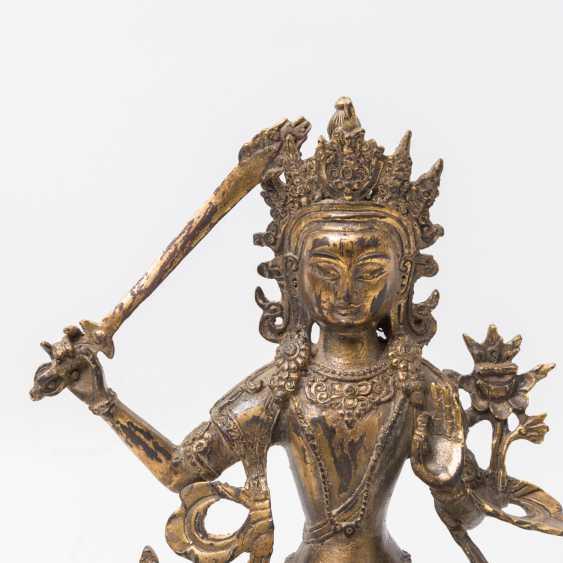TIBET 'Manjushri', 20. Century - photo 4