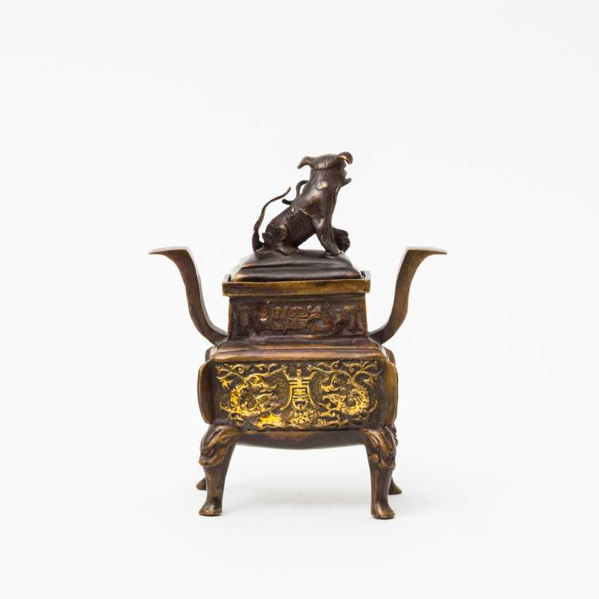 CHINA 2 incense burner, 20. Century - photo 3