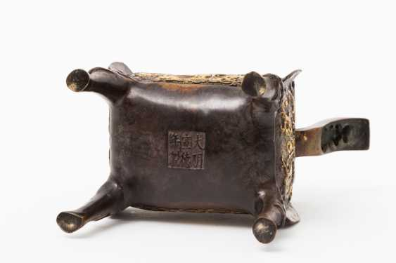 CHINA 2 incense burner, 20. Century - photo 4
