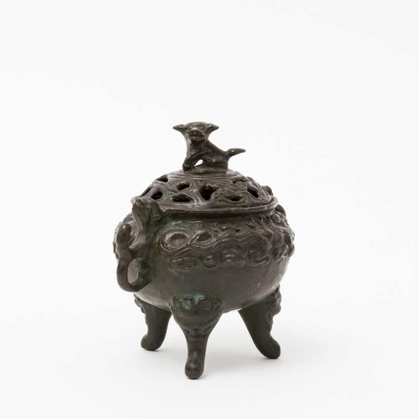 CHINA 2 incense burner, 20. Century - photo 5