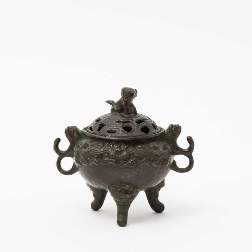 CHINA 2 incense burner, 20. Century - photo 6