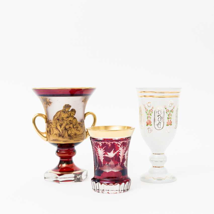 THREE-PIECE GLASS COLLECTION - photo 1