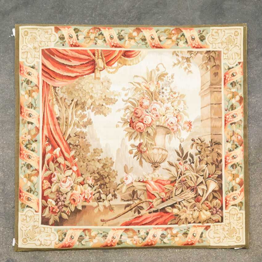 Tapestry of the manufactory of Aubusson. FRANCE, 19. / 20. Century - photo 1