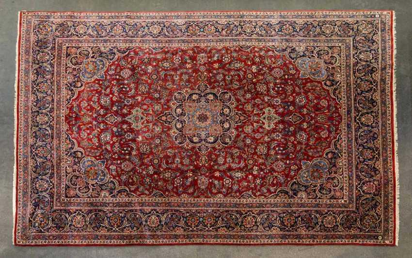Orient carpet. KEŞAN old / PERSIA, 1940s, CA. 405x278 cm - photo 1