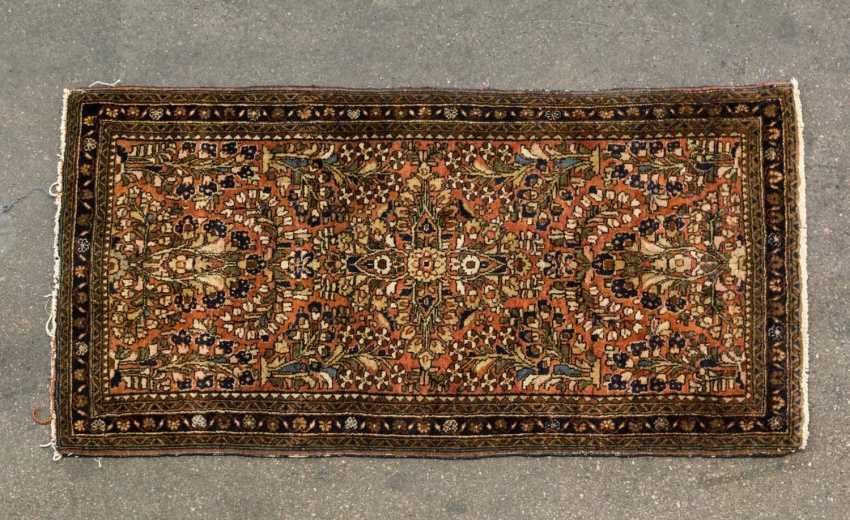 Orient carpet. SARUK / PERSIA, 20. Century, approx. 125x65 cm - photo 1