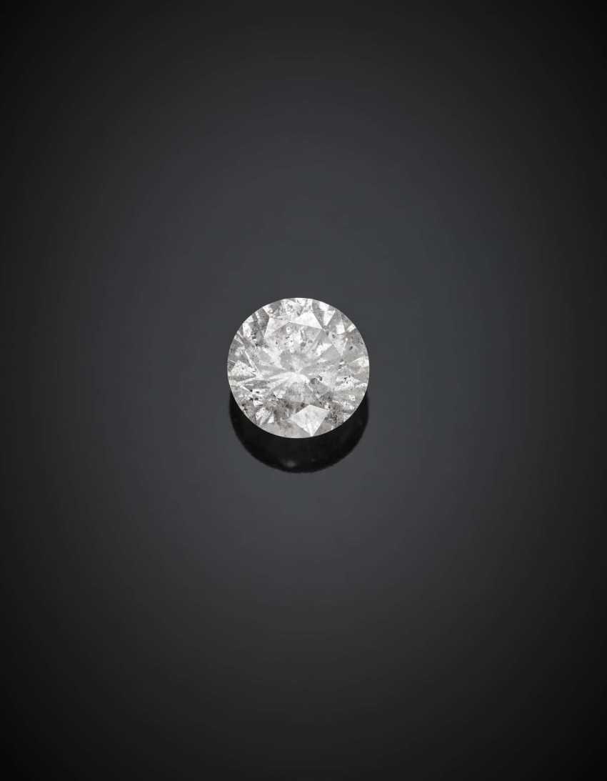 Round ct. 1.49 diamond. - photo 1