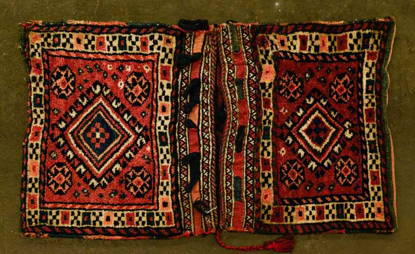 Beautiful Saddle Bag. KURDISTAN, 1. Half of the 20. Century - photo 1