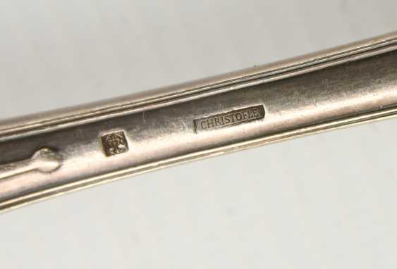 CHRISTOFLE etc., CUTLERY-VINTAGE-silver/part silver, marked, signed with monogram, 1. Half of the 20. Century - photo 6