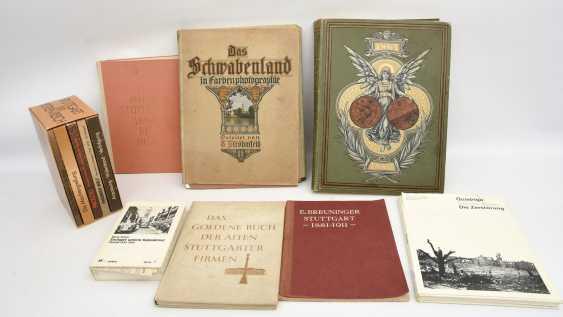 "BOOKS-VINTAGE ""STUTTGART"", a variety of non-fiction books/monographs, German Empire/Germany 1889 - 1984 - photo 1"