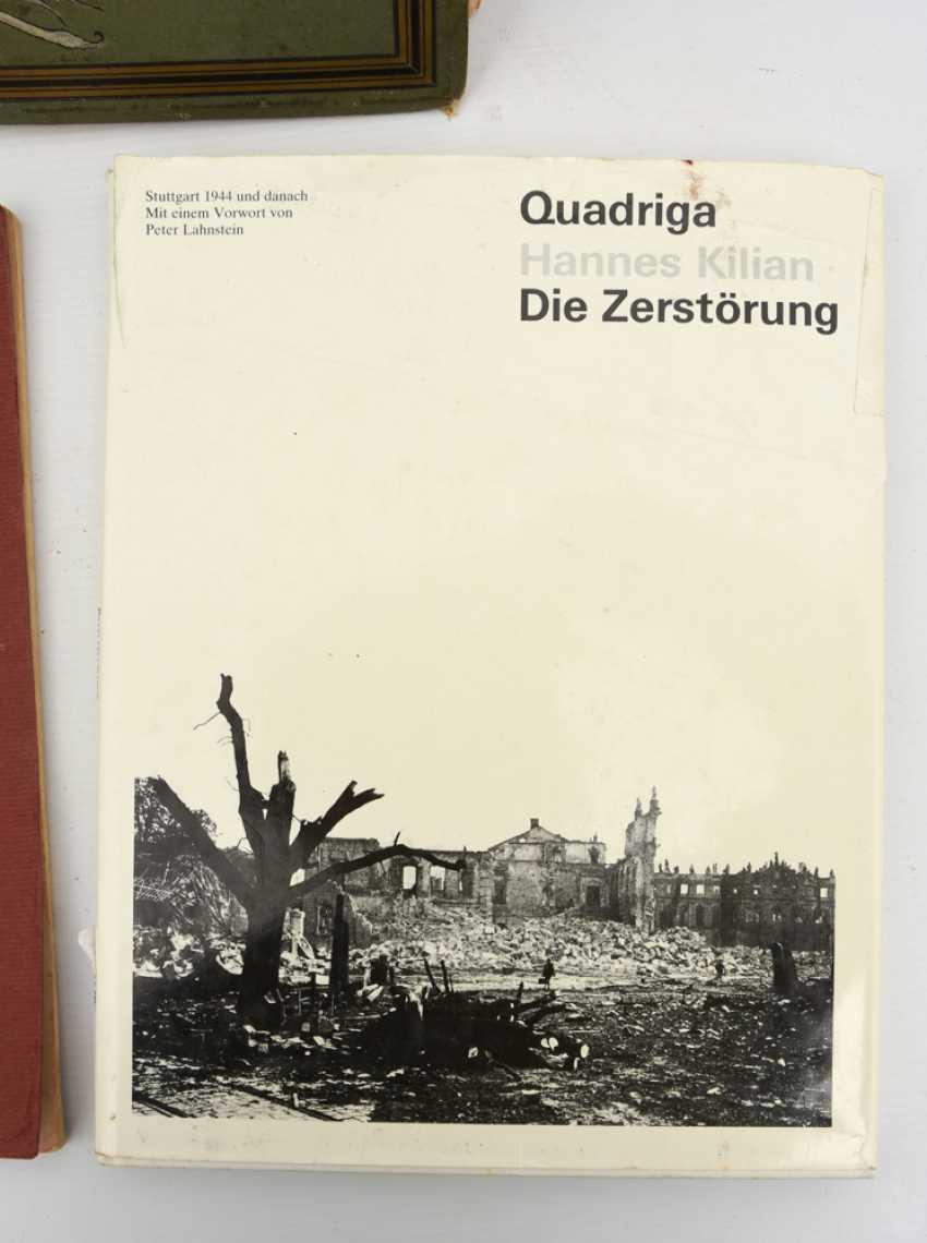 "BOOKS-VINTAGE ""STUTTGART"", a variety of non-fiction books/monographs, German Empire/Germany 1889 - 1984 - photo 2"