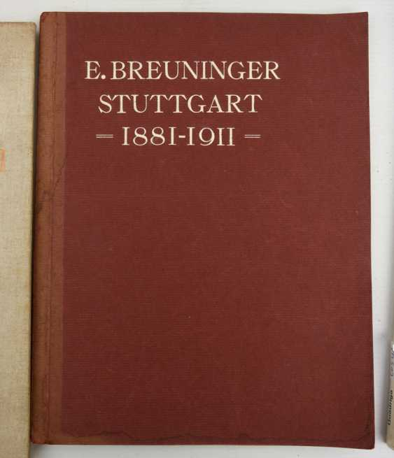 "BOOKS-VINTAGE ""STUTTGART"", a variety of non-fiction books/monographs, German Empire/Germany 1889 - 1984 - photo 3"