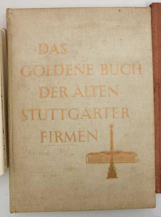 "BOOKS-VINTAGE ""STUTTGART"", a variety of non-fiction books/monographs, German Empire/Germany 1889 - 1984 - photo 4"