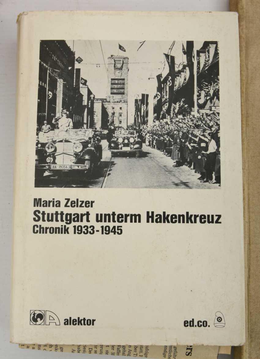"BOOKS-VINTAGE ""STUTTGART"", a variety of non-fiction books/monographs, German Empire/Germany 1889 - 1984 - photo 5"