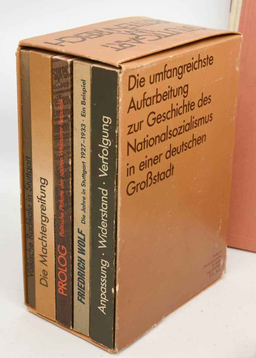 "BOOKS-VINTAGE ""STUTTGART"", a variety of non-fiction books/monographs, German Empire/Germany 1889 - 1984 - photo 6"