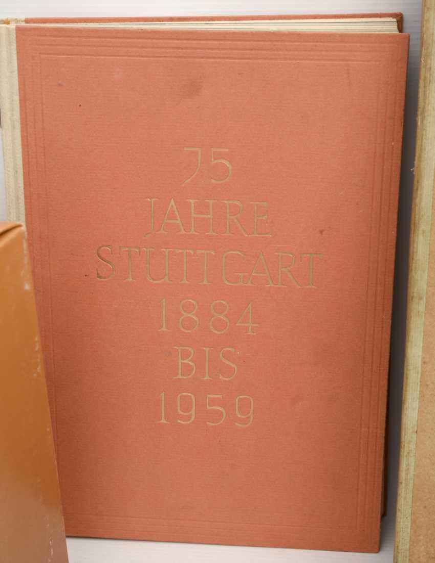 "BOOKS-VINTAGE ""STUTTGART"", a variety of non-fiction books/monographs, German Empire/Germany 1889 - 1984 - photo 7"