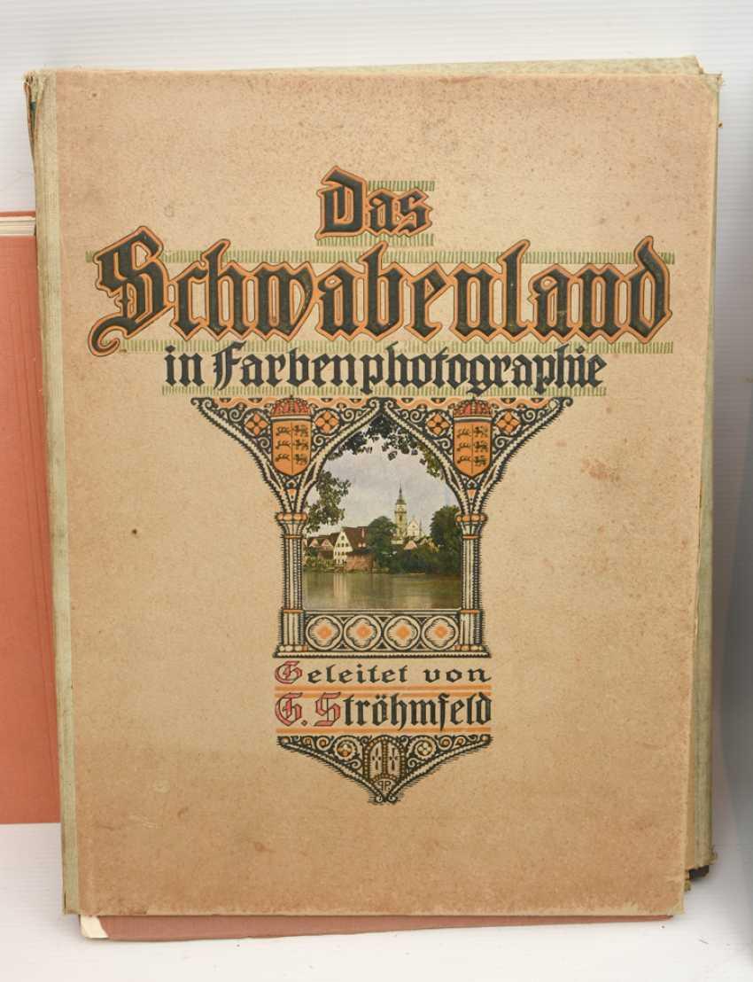 "BOOKS-VINTAGE ""STUTTGART"", a variety of non-fiction books/monographs, German Empire/Germany 1889 - 1984 - photo 8"
