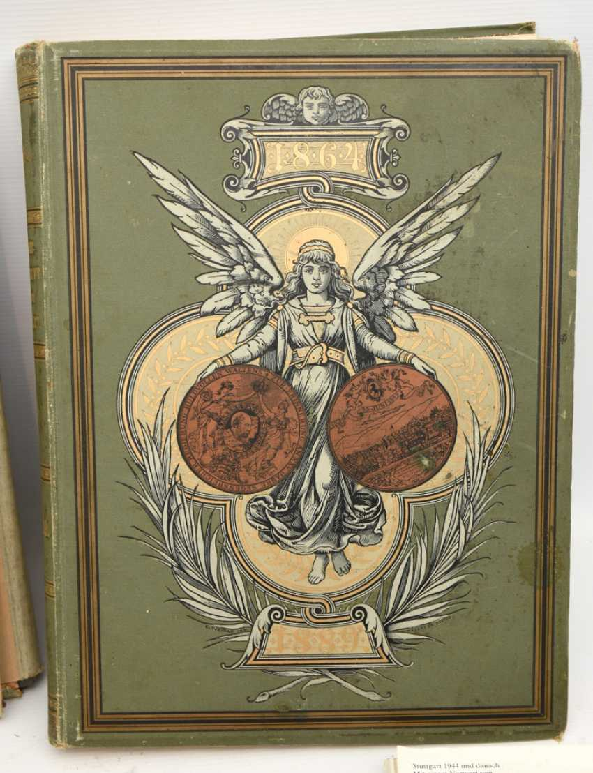 "BOOKS-VINTAGE ""STUTTGART"", a variety of non-fiction books/monographs, German Empire/Germany 1889 - 1984 - photo 9"