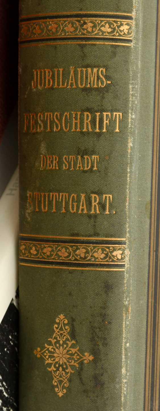 "BOOKS-VINTAGE ""STUTTGART"", a variety of non-fiction books/monographs, German Empire/Germany 1889 - 1984 - photo 10"