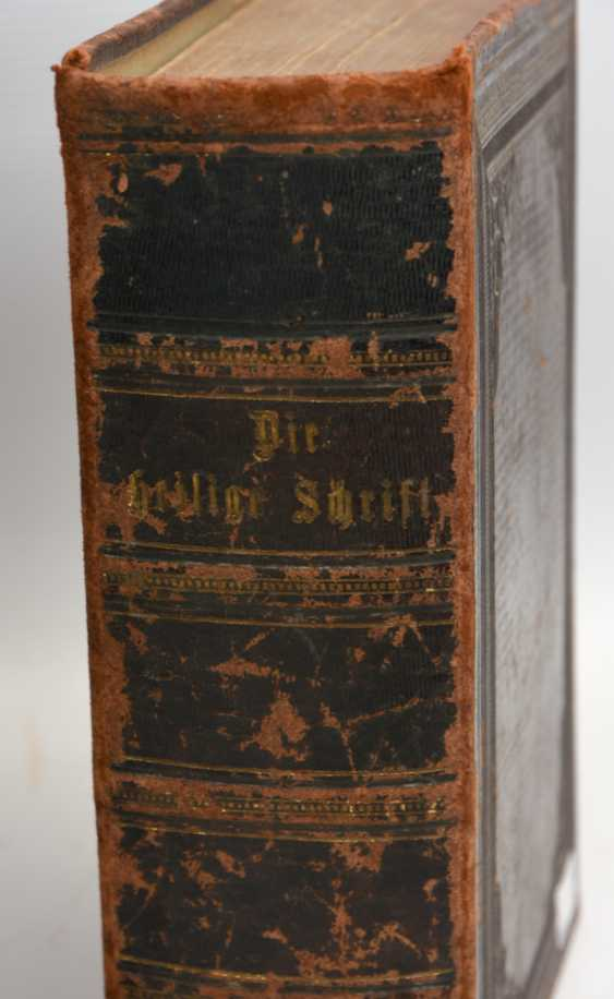 BIBLE AND BIBLE-ILLUSTRATIONS, hardcover editions, British Kingdom in 1840/ German Empire 1877 - photo 2