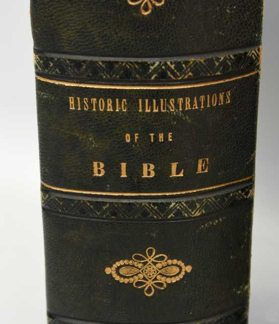 BIBLE AND BIBLE-ILLUSTRATIONS, hardcover editions, British Kingdom in 1840/ German Empire 1877 - photo 3