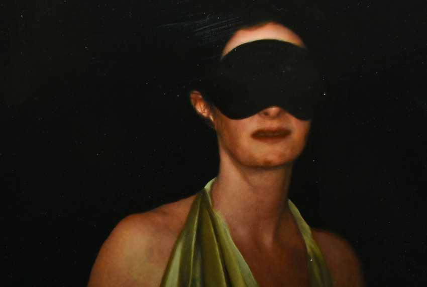 "JOCHEN GÖRLACH:""untitled"", Oil on wood, framed, 2013 - photo 4"