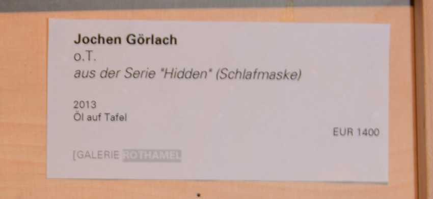 "JOCHEN GÖRLACH:""untitled"", Oil on wood, framed, 2013 - photo 6"