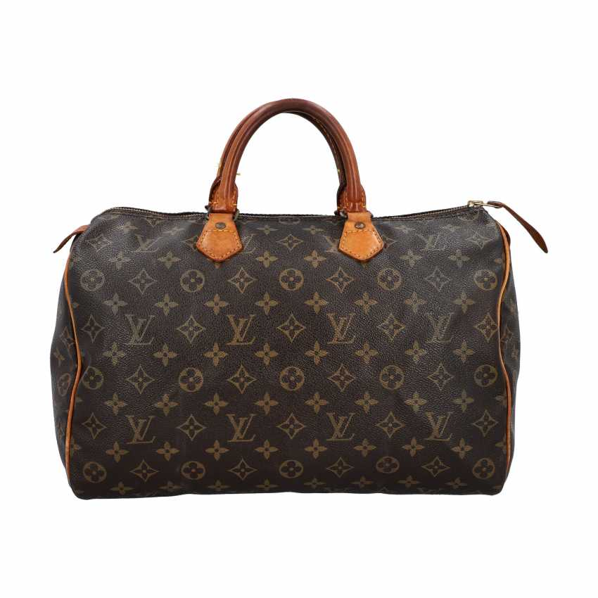 "LOUIS VUITTON VINTAGE handbag ""SPEEDY 35"", collection 1986. - photo 1"
