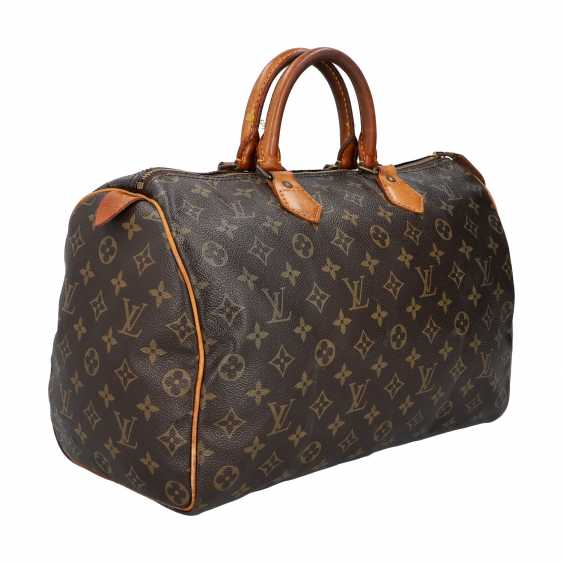 "LOUIS VUITTON VINTAGE handbag ""SPEEDY 35"", collection 1986. - photo 2"