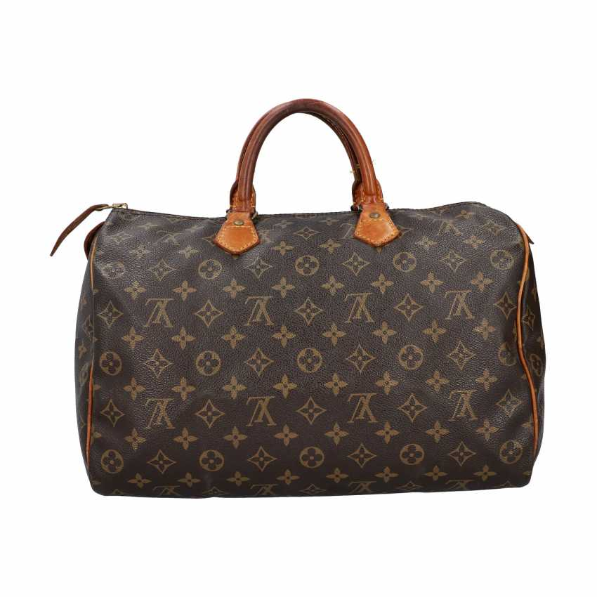 "LOUIS VUITTON VINTAGE handbag ""SPEEDY 35"", collection 1986. - photo 4"