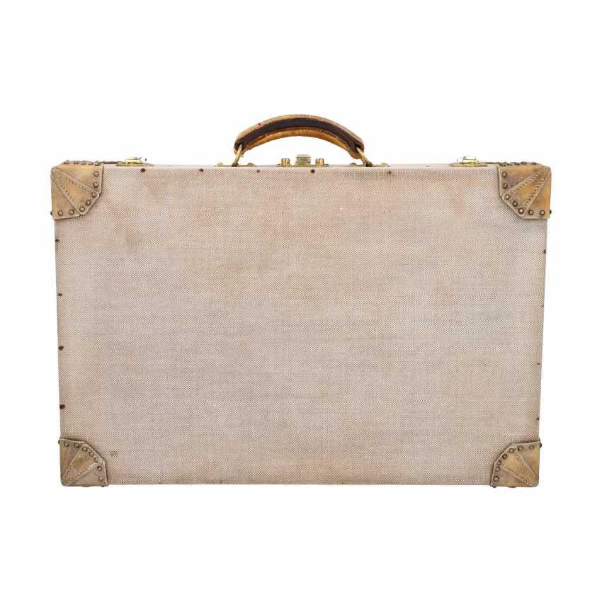HERMÈS VINTAGE travel suitcase, 1950s. - photo 1