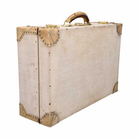 HERMÈS VINTAGE travel suitcase, 1950s. - photo 2