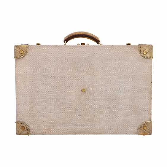 HERMÈS VINTAGE travel suitcase, 1950s. - photo 4