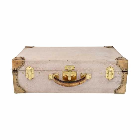 HERMÈS VINTAGE travel suitcase, 1950s. - photo 5