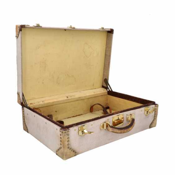 HERMÈS VINTAGE travel suitcase, 1950s. - photo 6
