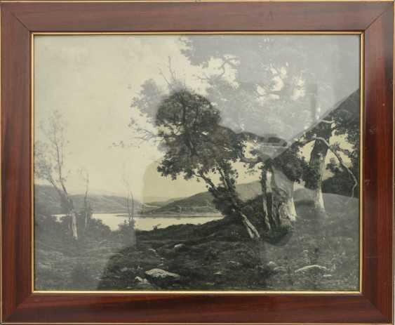Fine art print, behind glass framed, 1890s - photo 1